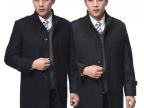 正品利郎男士保暖冬装羊绒风衣 商务休闲加厚中长款中年男式大衣