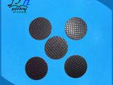 现货销售 黑色网格橡胶垫 高硬度防滑防震硅橡胶垫