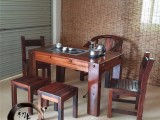 老船木茶台阳台小茶桌