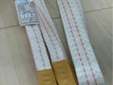 廉價白色扁平吊裝帶 3噸5米吊帶材質