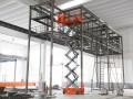 中山电动升降机出租,沙溪高空装风管用升降平台出租