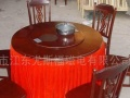 二手带裙转盘餐桌餐桌圆餐桌