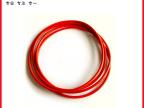 专业供应彩色密封圈 红色硅胶O型圈 耐高温耐油红色密封圈批发