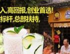 温州奶茶饮品加盟店 2人+10㎡开店 全民热爱