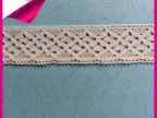 厂家销售 新款网布全棉花边 高档蕾丝花边厂家 价格便宜