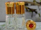 玻璃小香水瓶批发  3毫升玻璃滚珠瓶 走珠瓶 便携香水瓶