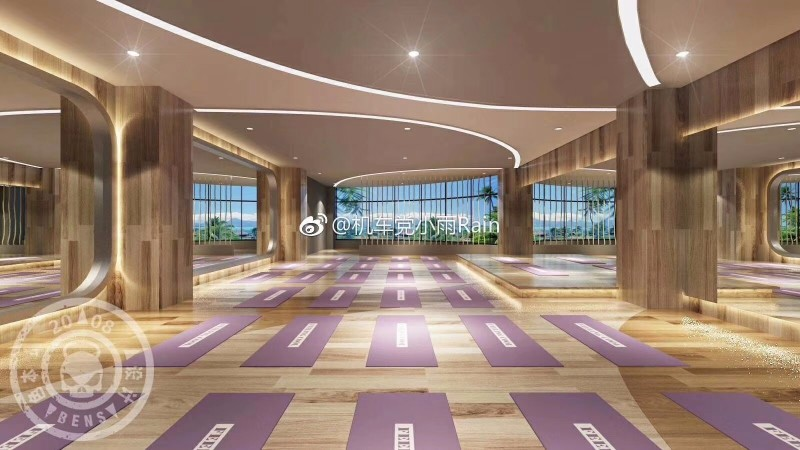 唐山新梦游泳健身(南湖金地店)带泳池的健身房