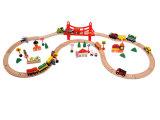 托马斯轨道火车制玩具火车轨道百变轨道磁性木制轨道圆形1号