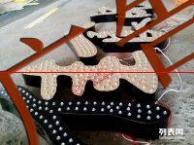 兰州坤宇广告公司招牌门头led发光字pvc雕刻铁皮字加工制作