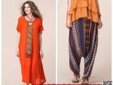 霓裳如歌民族风女装品牌折扣女装尾货走份哪里较便宜