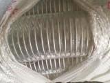 pvc透明钢丝管 无味透明钢丝管 65抗静电带铜线透明钢丝管