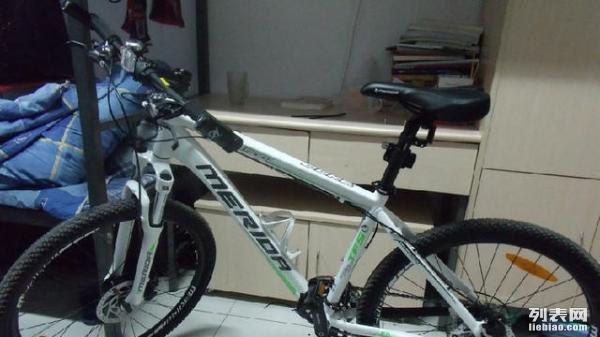 转让2手美利达山地自行车一辆 3800买的,800卖