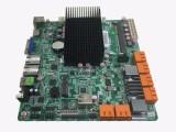 赛扬四核J1900多SATA口 NVR主板双HDMI输出