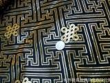 杭州丝绸唐装旗袍面料/布料金银织锦缎面料