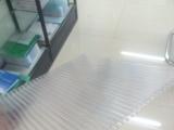 【厂家直销】松夏牌8mm PC湖蓝阳光板 采光遮阳雨棚车棚顶棚