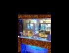 大理石生态大鱼缸