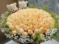 长安七夕鲜花速递玫瑰礼盒庆典花篮玫瑰百合全市包邮