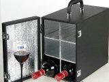 现货供应 六支装红酒盒 HX-S558黑