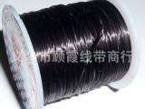 黑色氨纶弹力线 扁弹力线精品diy进口水晶手链线绳串珠材料批发