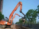上海三一600型打拔机出租钢板.拉森钢板桩租赁打拔