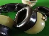 东莞吸塑热压成型航天耳机套生产厂家/硅胶皮耳套价格