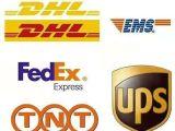 DHL国际快递专寄口罩粉沫液体食品化妆品茶叶电子产品双清包税