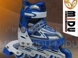 进行了大量探索的畅销优质MIDU505蓝色儿童直排旱冰鞋溜冰鞋