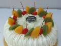 咸阳水果蛋糕免费配送可加微信订购微信号就是手机号