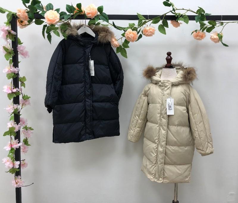 浙江吾名堂 原创童装品牌纯羽绒服系列 中性 百搭时尚折扣批发