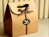 厂家现货 牛皮纸zakka复古手提袋 烘焙包装袋 礼品袋 蛋糕袋