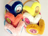 韩版可爱笑脸保暖护耳耳暖耳罩批发 硕庄冬季儿童保暖