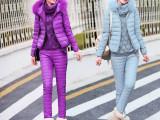 正品新款哥弟2015三件套羽绒服女装时尚气质保暖女式宽松外套冬季