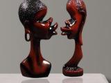 供应浪漫非洲情侣人物摆件 创意家饰树脂工艺品 新奇特产品
