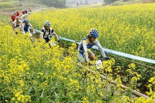 武汉周边爬山去哪?春天出游踏青拓展,公司骑行团建活动