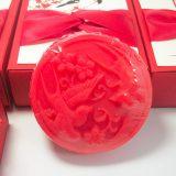 比翼鸟中国风结婚红色喜皂 手工皂礼盒婚庆回礼小礼物定制