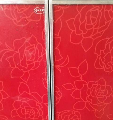 出售六扇晶钢门橱柜不锈钢橱柜灶台面