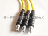 耐高压液压软管厂家,HX6/2S耐老化液压站树脂液压软管总成