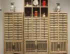 普洱茶饼架实木多层收纳柜客厅小展示柜可以定做