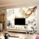 艺术玻璃电视瓷砖背景墙uv打印机3d/5d背景墙**打印机