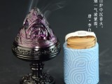 深圳百福琉璃高脚博山炉卧室焚香器具茶会香坊收藏品