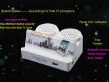 蓝牙音箱 厂家直销双喇叭多功能无线音箱 移动电源充电宝蓝牙音响