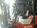 抛售二手合力前移式带侧移15吨全电动电瓶叉车