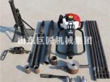 华夏巨匠QTZ-1便携式取土钻机 工程地质勘探 取样勘察设备