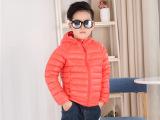 2015冬季新款韩版专柜同款儿童装羽绒服短款男女童外套 低价批发