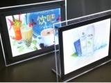 广州点赞广告器材供应奶茶店亚克力点餐牌单价牌灯箱质量好