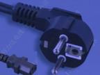 欧洲电源线、欧标插头线、欧规品字尾插头线