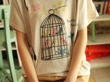 2014夏季新款 原单外贸大码女装 短袖修身爆款地摊t恤 一件代
