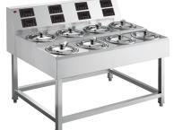 順艺智能紫砂煲仔饭机单层8头 商用煲仔饭设备