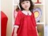 韩国版外贸原单品牌女童春装童装批发连衣娃娃公主裙小红裙13A16
