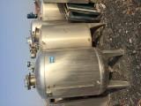 二手颗粒机 混合机 不锈钢罐 搪瓷反应釜 不锈钢夹层锅
